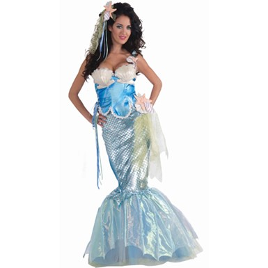 Womens Sexy Mermaid Halloween Costume