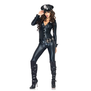 Womens Sexy Police Officer Payne Costume