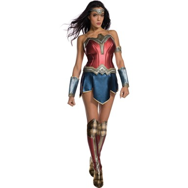 Womens Sexy Wonder Woman Secret Wishes Costume