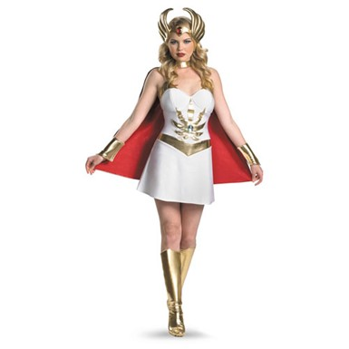 Womens She-Ra Deluxe Costume