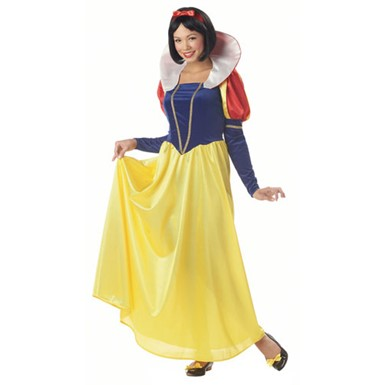 Womens Snow White Dress Costume