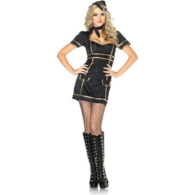 Womens Sultry Stewardess Costume