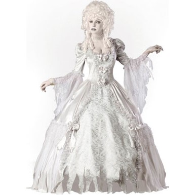 Womens Victorian Ghost Costume