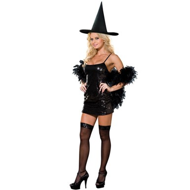 Womens Witch Costume - Witch Kit