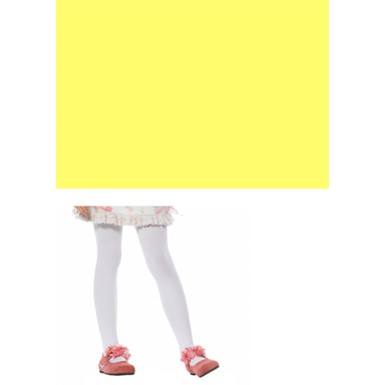 Yellow Stockings - Opaque Stockings For Child