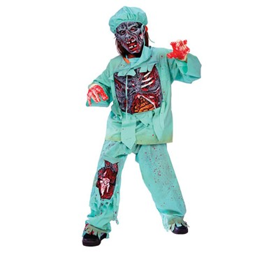 Zombie Doctor Child Halloween Costume
