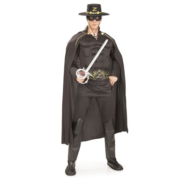 Zorro Costume for Men - Muscle Chest
