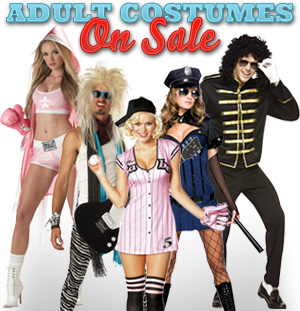 Adult Costumes On Sale