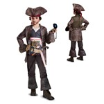 Boys Deluxe Captain Jack Sparrow Costume
