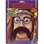 Hippe Brown Moustache for Halloween Costume Accessory