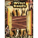 Stone Age Caveman Wrist Band Costume Accessory