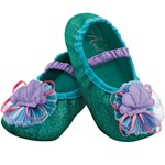 Toddler Girls Ariel Halloween Costume Slippers
