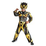 Toddler Transformers Bumblebee Muscle Costume