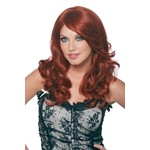 Womens Wavy Red Emma Wig