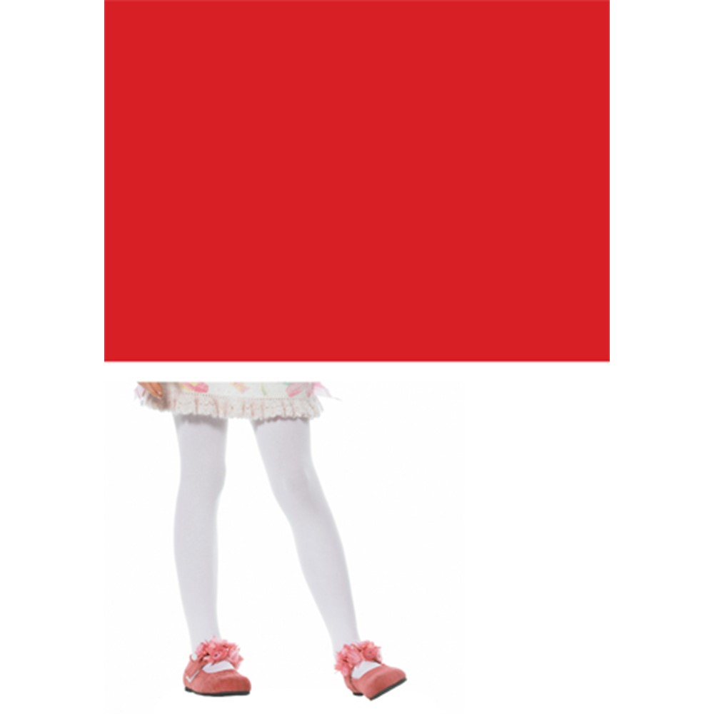 Every girl needs a pair of red stockings! The Opaque Stockings for Child Costumes are an adorable touch to any costume. These are Red Stockings that barely reveal any skin, so you can look cute and stay classy. The opaque stockings can be used as a fun, added accessory to any costume you desire. The Opaque Stockings for Child Costumes come in an array of colors; like red, white, black, yellow and pink. These Red Stockings are sure to make a bold statement when you walk by!