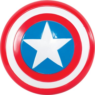 "12"" Captain America Halloween Shield"