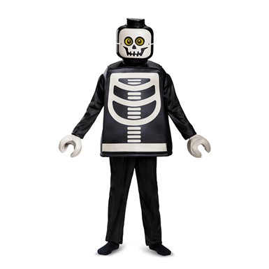 Kids LEGO Skeleton Deluxe Halloween Costume – LEGO Costumes