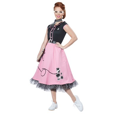 50s Sweetheart Costume - Womens