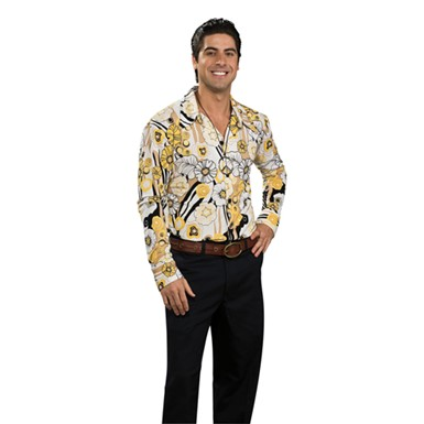 70's Shirt Costume - Yellow