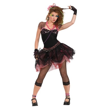 80's Diva Halloween Costume - Womens
