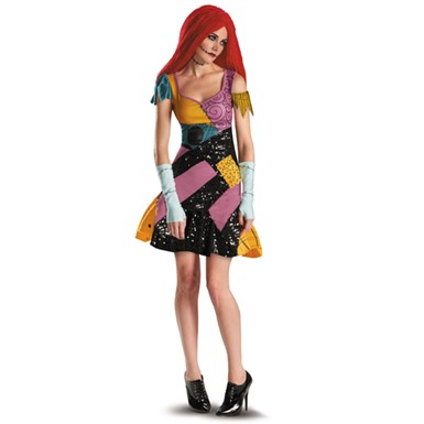 A Nightmare Before Christmas Sally Glam - Womens