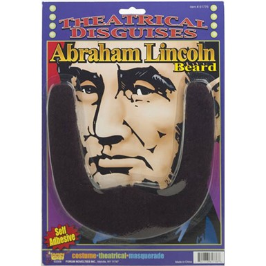 Abe Lincoln Beard - Black