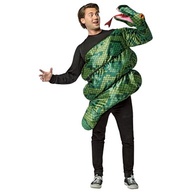 Adult Anaconda Snake Costume