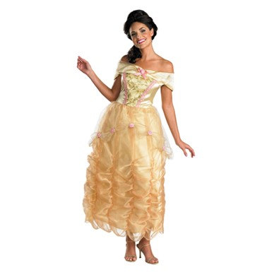 Adult Belle Costume - Deluxe