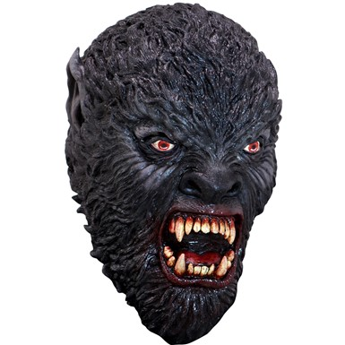 Adult Blood Moon Hunter Werewolf Mask