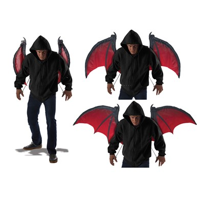 Adult Bloodnight Wings Costume Accessory