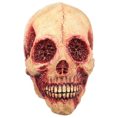 Adult Bloody Skull Costume Mask
