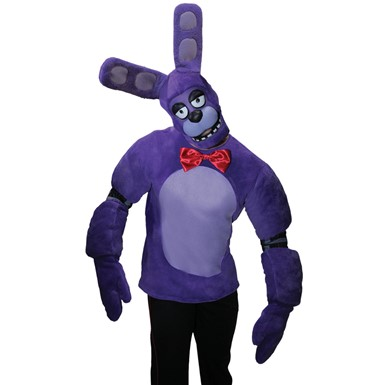 Adult Bonnie the Bunny Costume – Five Night's at Freddy's