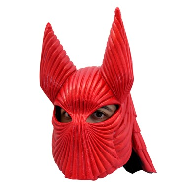 Adult Bram Stocker's Dracula Red Helmet Armor Latex Mask