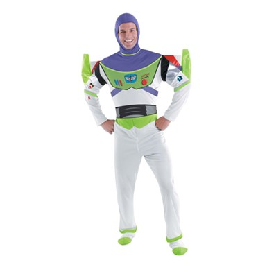Adult Buzz Lightyear Costume - Deluxe Toy Story