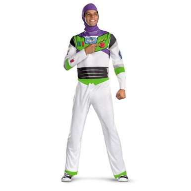 Adult Buzz Lightyear Costume - Mens