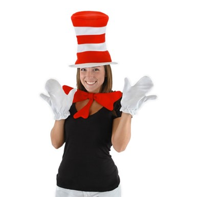 Adult Cat In The Hat Accessory Kit