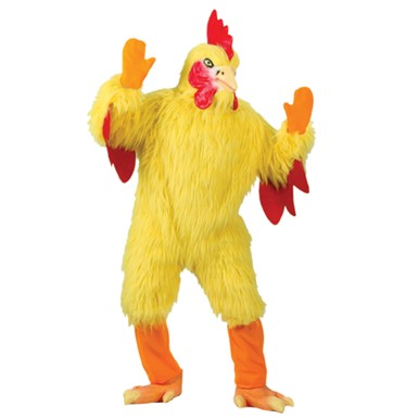 Adult Chicken Costume - Funny Giant Chicken