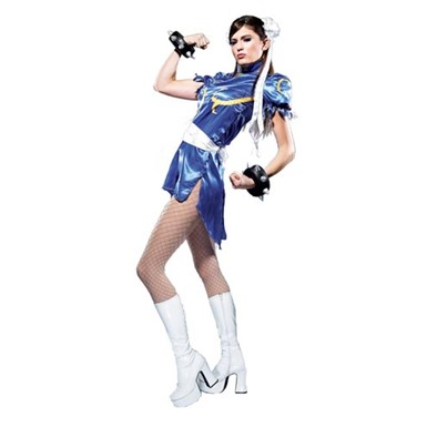 Adult Chun Li Costume - Street Fighter
