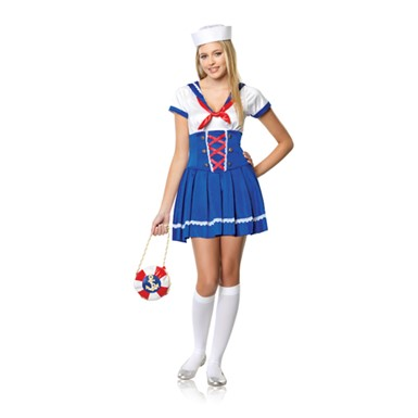 Adult Costumes -  First Mate Sailor Junior