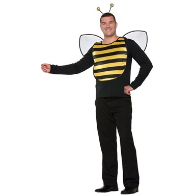 Adult Deluxe Bumble Bee Halloween Costume Kit