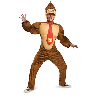 Adult Deluxe Donkey Kong Costume – Super Mario Bros.