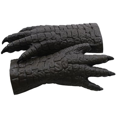 Adult Deluxe Latex Godzilla Hands