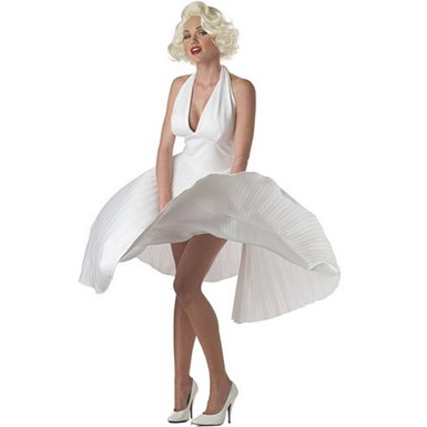 Adult Deluxe Marilyn Halloween Costume