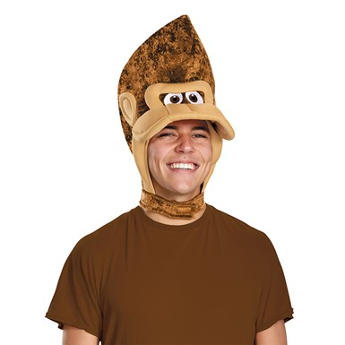 Adult Donkey Kong Headpiece Costume Accessory