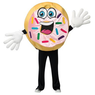 Adult Donut Waver Ultimate Mascot Costume