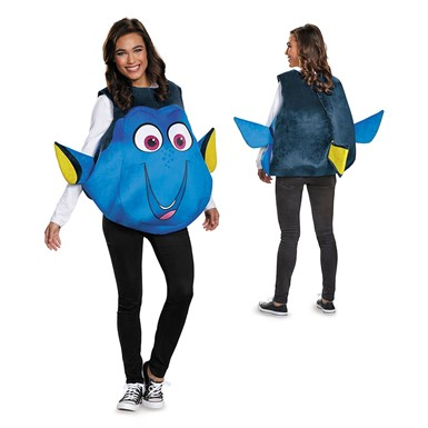 Adult Dory Fish Disney Costume Standard Size