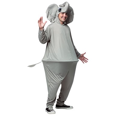 Adult Elephant Hoopster Costume