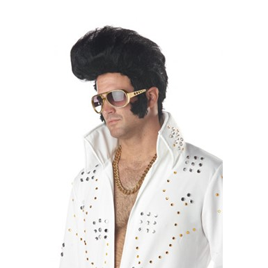 Adult Elvis Wig - Rock N' Roll