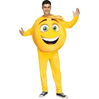 Adult Emoji Movie Gene Halloween Costume