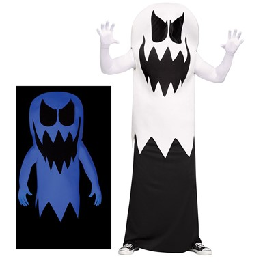 Adult Floating Ghost Glow-in-the-Dark Costume